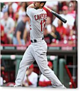 Matt Carpenter Acrylic Print