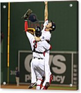 Matt Carpenter, David Ross, and Koji Uehara Acrylic Print