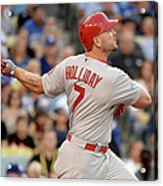 Matt Holliday Acrylic Print