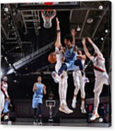 Memphis Grizzlies v Portland Trail Blazers Acrylic Print