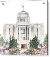 Meridian Temple - Celestial Series Acrylic Print