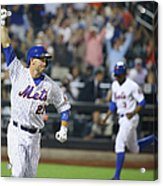 Michael Cuddyer and Curtis Granderson Acrylic Print
