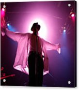 Michael Jackson Cover Band Plays DC 9:30 Club Acrylic Print