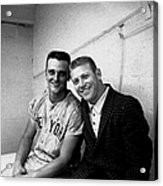 Mickey Mantle and Roger Maris Acrylic Print