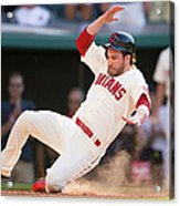 Mike Aviles and Jason Kipnis Acrylic Print