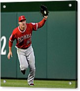 Mike Trout and Bryce Harper Acrylic Print