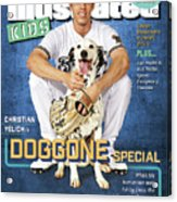 Milwaukee Brewers Christian Yelich, Sports Illustrated for Kids Cover Acrylic Print
