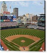 Minnesota Twins v Cleveland Indians Acrylic Print