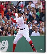 Mookie Betts Acrylic Print