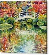 Moon Bridge Acrylic Print
