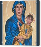 Mother of God Protectress of Health Acrylic Print
