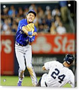 Munenori Kawasaki and Chris Young Acrylic Print