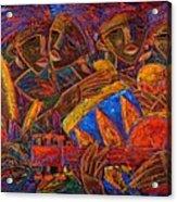 Musas Del Caribe Acrylic Print