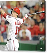 Nate Mclouth Acrylic Print