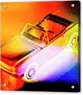Neon Drives Acrylic Print