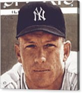 New York Yankees Mickey Mantle Sports Illustrated Cover Acrylic Print