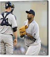 New York Yankees V Minnesota Twins Acrylic Print