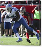 NFL: DEC 10 Lions at Buccaneers Acrylic Print