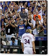 Noah Syndergaard and Chase Utley Acrylic Print
