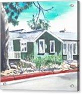 Ocean Front House Acrylic Print