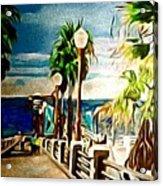 Oceanside Peir Acrylic Print