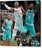 Oklahoma City Thunder v Charlotte Hornets Acrylic Print