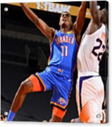 Oklahoma City Thunder v Phoenix Suns Acrylic Print