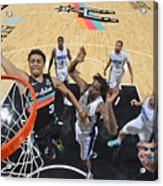 Orlando Magic vs. San Antonio Spurs Acrylic Print