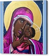 Our Lady Mother of the Streets Acrylic Print
