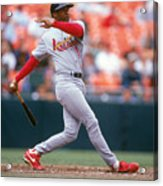 Ozzie Smith Acrylic Print