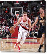 Pat Connaughton and Georges Niang Acrylic Print
