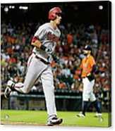 Pat Neshek and Jake Lamb Acrylic Print