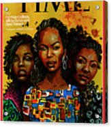 Patrisse  Cullors, Alicia Garza, Opal Tometi, 2013 - Founders of Black Lives Matter Acrylic Print