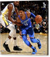 Paul George and Kevin Durant Acrylic Print