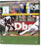 Paul Goldschmidt And Brandon Crawford Acrylic Print