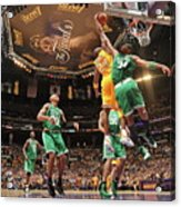 Paul Pierce and Kobe Bryant Acrylic Print
