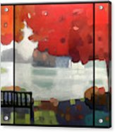 Peaceful Fall Acrylic Print