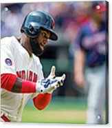 Phil Hughes and Abraham Almonte Acrylic Print
