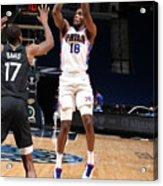 Philadelphia 76ers v Minnesota Timberwolves Acrylic Print