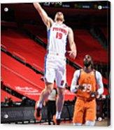 Phoenix Suns v Detroit Pistons Acrylic Print