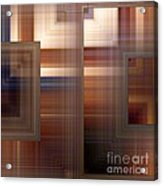 Plaid Squared Acrylic Print