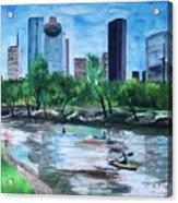 Pon de River Acrylic Print