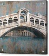 Ponte Di Rialto Acrylic Print