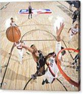 Portland Trail Blazers v Brooklyn Nets Acrylic Print