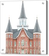 Provo City Center Temple - Celestial Series Acrylic Print