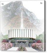 Provo Temple - Celestial Series Acrylic Print