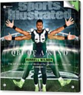 QB One of a Kind Russell Wilson Sports Illustrated Cover Acrylic Print
