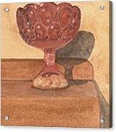 Red Chalice Acrylic Print