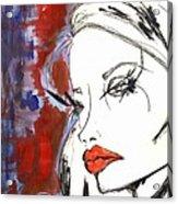 Red Overlay Acrylic Print