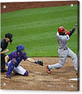 Red Phillips Acrylic Print